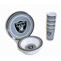 NFL Raiders 12pc Melamine Dinnerware Set