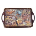 White Tail Deer Serving Tray