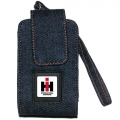 International Harvester Cell Phone Holder -- Blue Denim