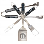 MOPAR 4pc BBQ Utensil Set