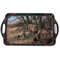 Wild Wings Serving Tray - White Tailed Deer