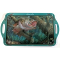 Wild Wings Serving Tray - Large Mouth Bass