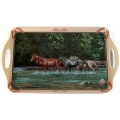 Wild Wings Serving Tray - Wild Horses