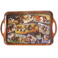 Wild Horse Collage Serving Tray